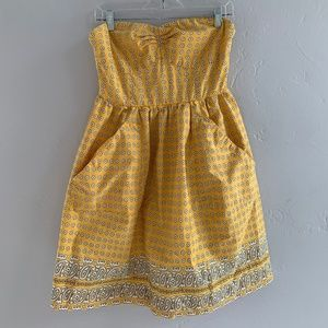 Anthropologie | Girl from Savoy Strapless Dress 6